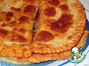 Рецепт Манно-овсяные лепешки с сыром