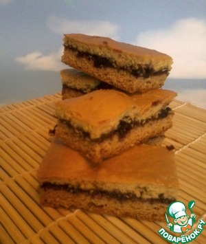 Рецепт Печенье медовое с вареньем