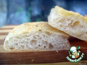Рецепт Фокачча с чесночно-сырной корочкой