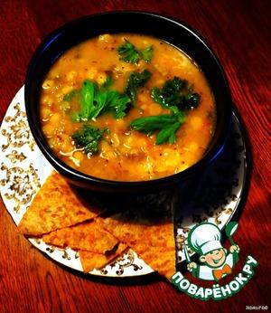 Рецепт Гороховый суп по-канадски