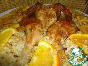 Рецепт Апельсиновый цып с рисом