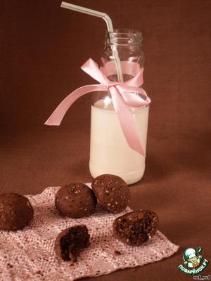 Рецепт Шоколадное печенье с кунжутом