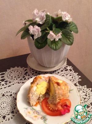 Рецепт Запеченные ежики с сюрпризом