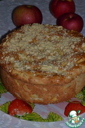 Рецепт Белорусский яблочный пирог