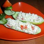 Лодочки с салатом