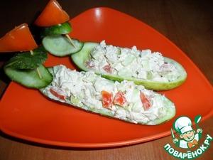 Рецепт Лодочки с салатом