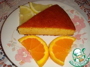 Рецепт Миндально-апельсиновый пирог на меду без муки и сахара