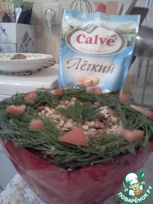 """Рецепт Слоеный салат """"Ирина"""""""