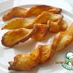 Сырное печенье из творожного слоеного теста