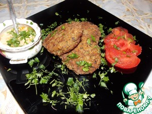 Рецепт Гречневые котлеты с грибами