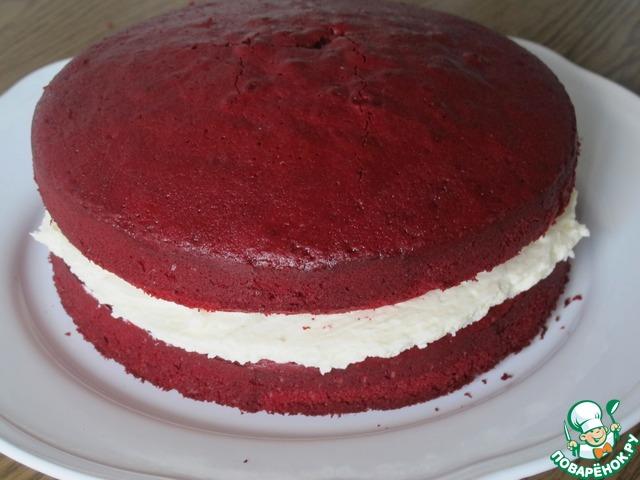Красный бархат торт рецепт свекла