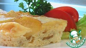Рецепт Картофельная запеканка в яйце