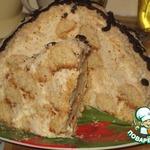 Торт «Кокосовая горка – «А-ля Рафаэлло»