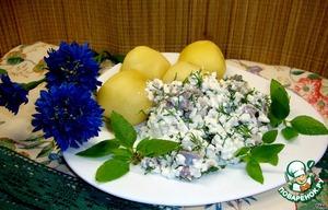 Рецепт Сельдь с домашним сыром
