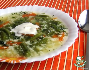 Рецепт: Лeгкий суп с яйцом