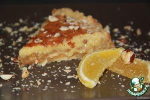 Рецепт Лимонный крем-пирог
