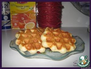 Рецепт Льежские вафли - Gaufres liegeoises