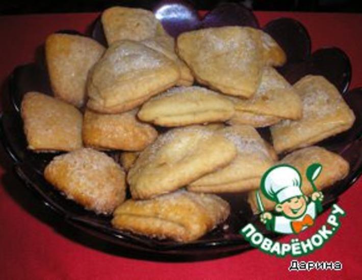 Рецепт: Мягкое печенье из творога