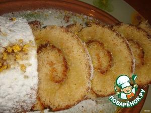 Рецепт Простенький лимонный рулет