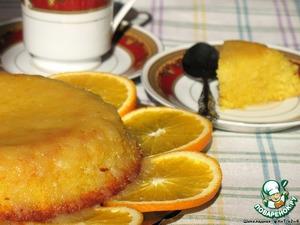 Рецепт Сочный апельсиновый пирог
