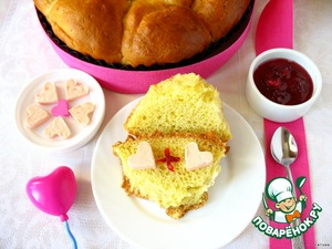 Рецепт Ночные булочки к завтраку «Венецианская любовь»