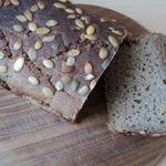 Хлеб пряно-ржаной с тыквой