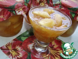 Рецепт Имбирно-яблочное варенье