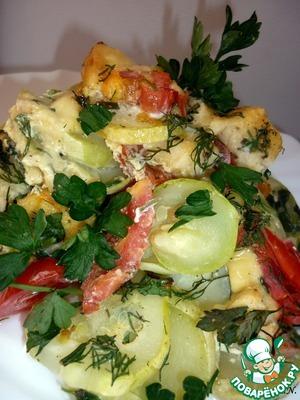Рецепт Кабачки запечённые в духовке