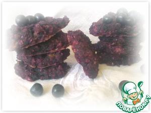 Рецепт Чернично-овсяное печенье