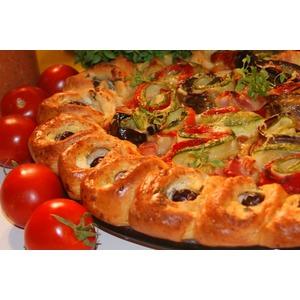 Пирог в средиземноморском стиле