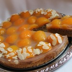 Миндально-абрикосовый торт