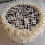 Торт с шоколадным муссом и фруктовым желе