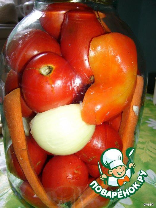 Рецепт консервирования помидоров пошагово