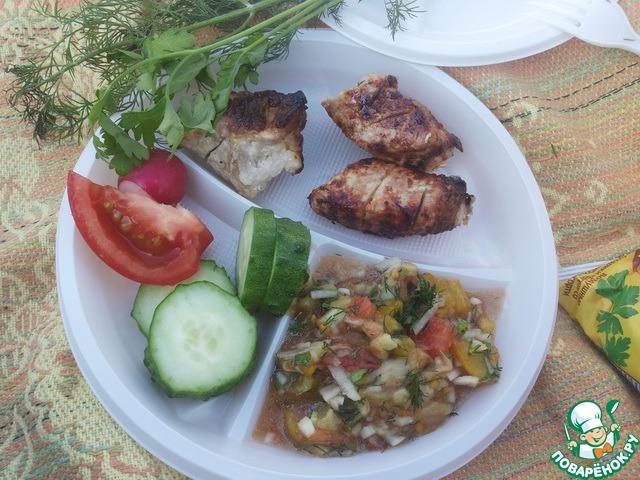 салат дымок рецепт с фото