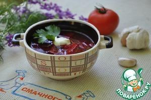 Рецепт Свекольник с имбирем