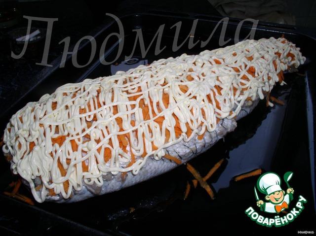 Готовим Фаршированный судак вкусный рецепт приготовления с фото пошагово #3
