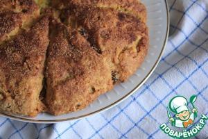 Рецепт Сконы с пахтой и изюмом