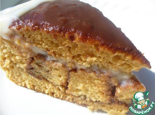Бюджетный торт рецепт с фото пошагово