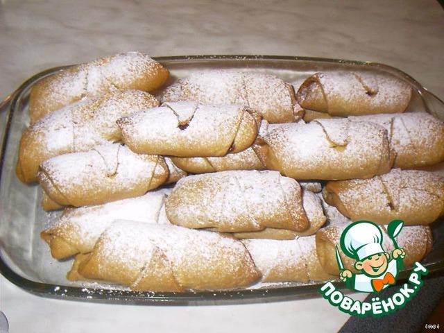 Ореховые рулетики рецепт с фото