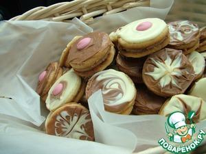 Рецепт Миндальное печенье с марципаном