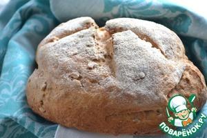 Рецепт Селянский хлеб на ряженке с семенами подсолнуха