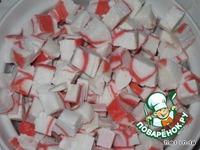 Маффины с крабовыми палочками ингредиенты