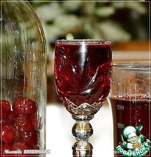 Рецепт Наливка вишневая