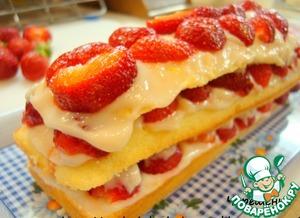 Рецепт Клубнично-лимонный йогуртовый десерт