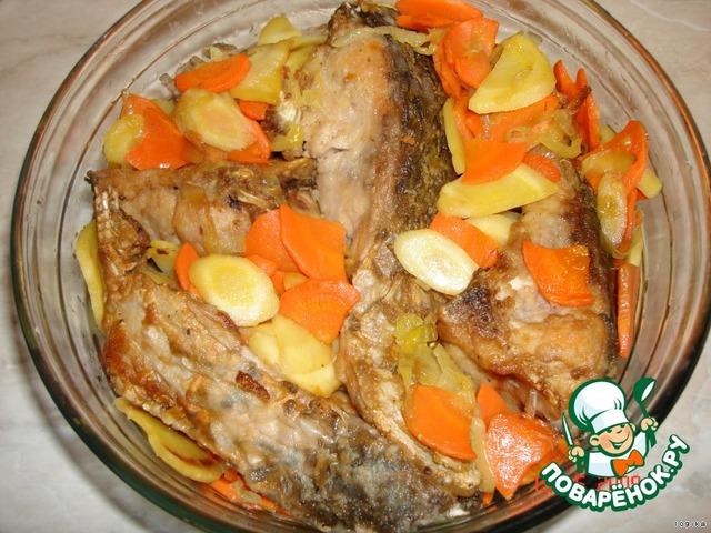 Рыба в белом маринаде рецепт