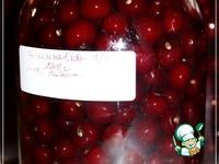 Наливка вишневая ингредиенты