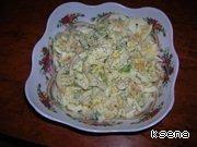 Салат с кальмарами и кукурузой домашний пошаговый рецепт приготовления с фото готовим #6