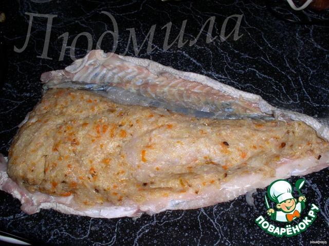 Готовим Фаршированный судак вкусный рецепт приготовления с фото пошагово #1