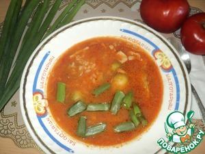 Рецепт Суп с кальмарами, рисом и брюссельской капустой