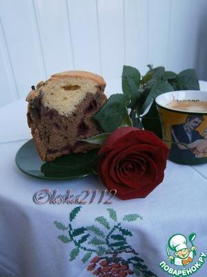 Рецепт Кекс кофейно-шоколадный с вишней